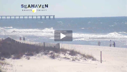 Beach resort webcams in PCB Florida
