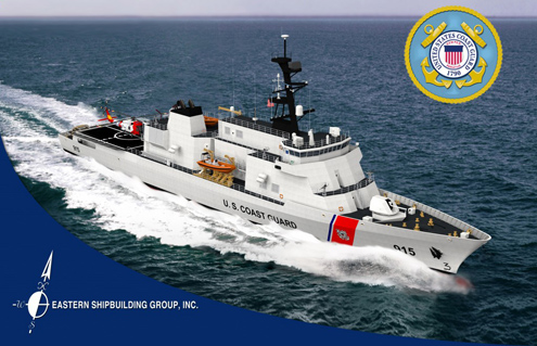 Eastern Shipbuilding Awarded $10.5B Coast Guard Contract