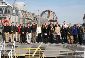 Chamber Board Tours Naval Support Activity Panama City