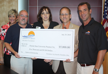 Beach Chamber Establishes Endowed Scholarship at FSU-PC