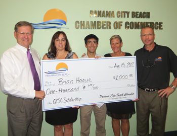 Beach Chamber Awards FSU-PC & GCSC Scholarships