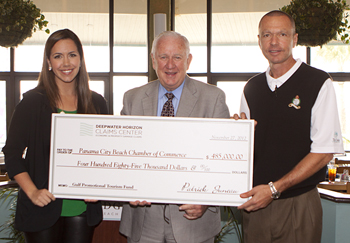 PCB Chamber Accepts Grant for 2013 Seafood & Music Fest
