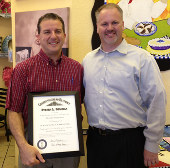 Rep. Jimmy Patronis Receives Kentucky Colonel Designation