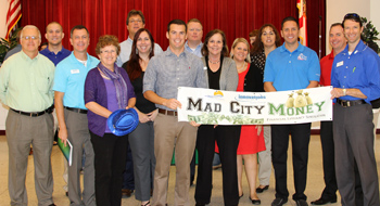 Beach Chamber Hosts Mad City Money at Rosenwald HS