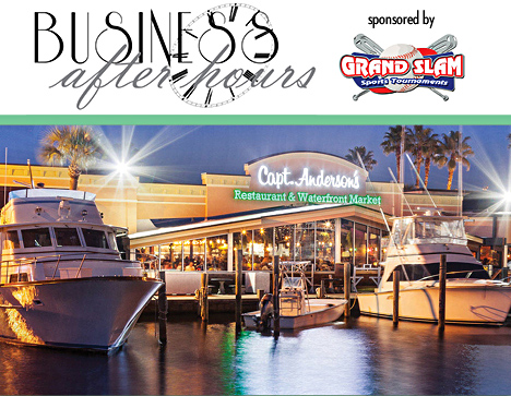 Business After Hours at Capt. Andersons October 27