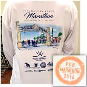 marathon race shirt