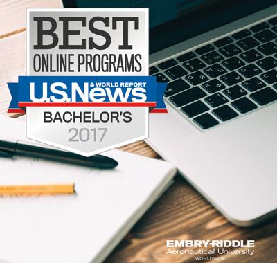 Embry-Riddle Aeronautical University Named #1