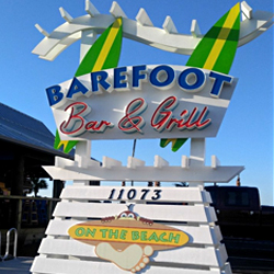 Where or how do I find Barefoot on the Beach in Panama City Beach FL