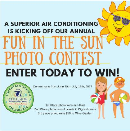 A Superior AC Kicks off Annual Fun in the Sun Contest