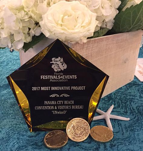 Florida Festivals & Events Association Awards Panama City Beach's UNwineD