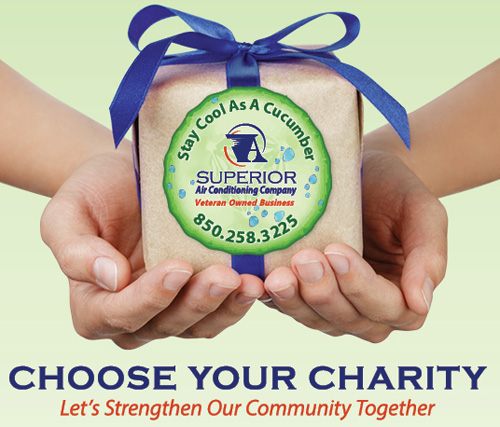 A Superior AC – Choose Your Charity Program