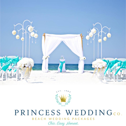 Where or how do I find Princess Wedding Co in Panama City Beach FL