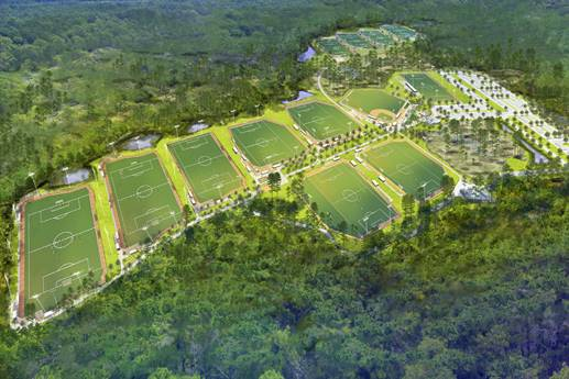 New Sports Park and Stadium Coming to Panama City Beach