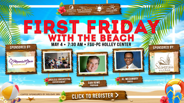 Celebrate Tourism at First Friday with the Beach