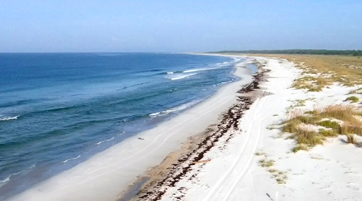 Mexico Beach Opens Temporary Welcome Center
