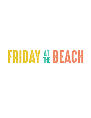 Friday at the Beach in July