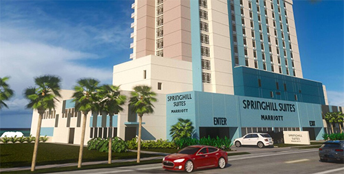 Innisfree Hotels Opens SpringHill Suites by Marriott in PCB