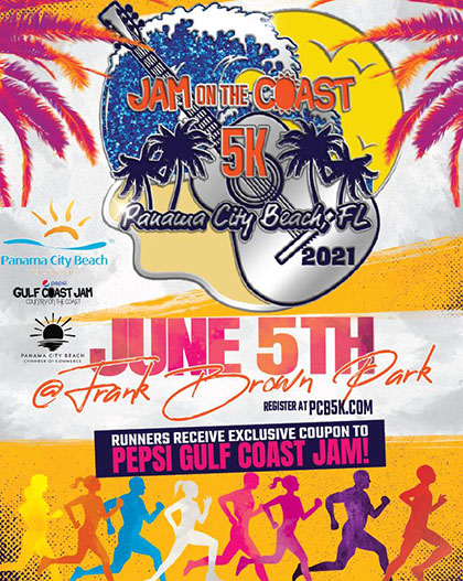 Jam on the Coast 5K – June 5th
